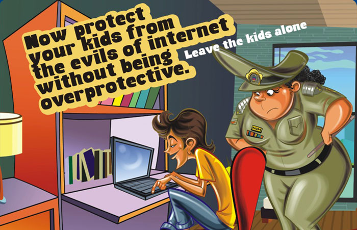 Protect your Kids from Negative Internet Content